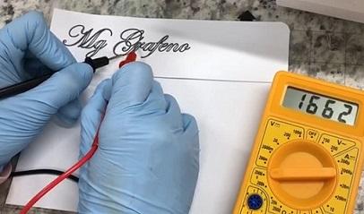 C d1 Aplicacao de grafeno em tinta para conduzir eletricidade